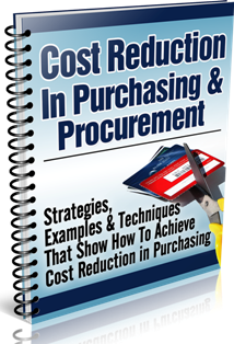 Cost Reduction in Purchasing & Procurement Report