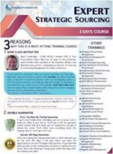 Expert Strategic Sourcing