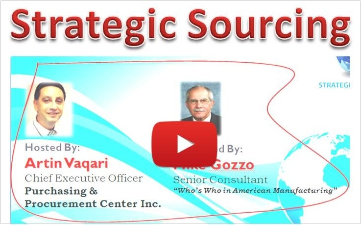 Strategic Sourcing Webinar