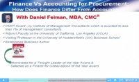 Finance vs Accounting For Procurement