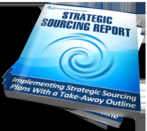 strategic sourcing report