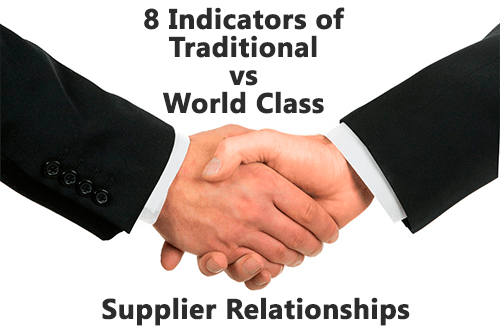 World class supplier relationships