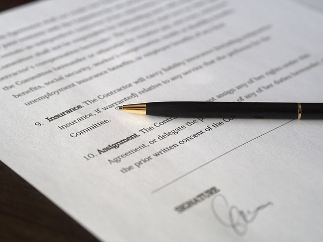 Commercial Contract