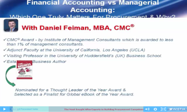Financial vs Managerial Accounting For Procurement