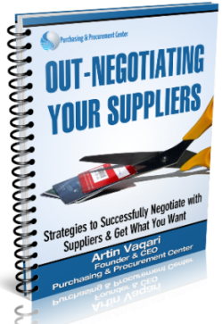Out-Negotiating Your Suppliers