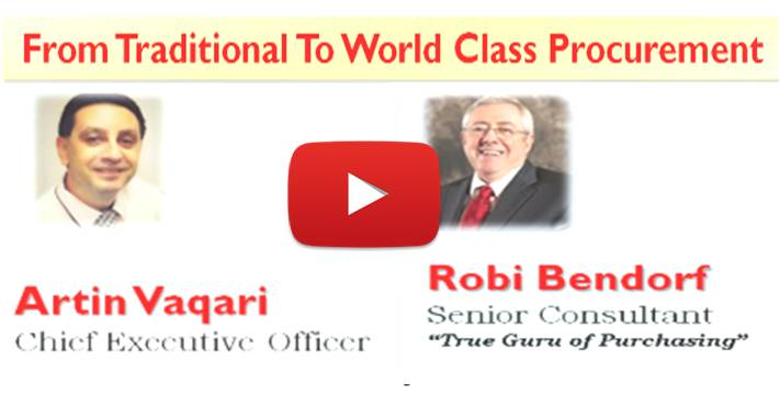 From Traditional To World Class Procurement Webinar