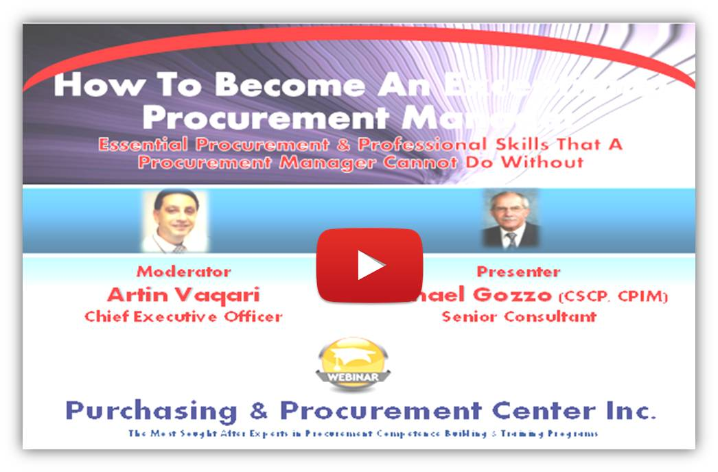 How To Become An Exceptional Procurement Manager?
